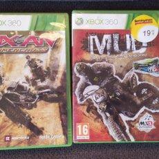 Videojuegos y Consolas: JUEGOS XBOX - DESCATALOGADOS - USADOS - MX VS ATV: SUPERCROSS Y MUD FIM MOTOCROSS WORLD CHAMPIONSHIP. Lote 267512169
