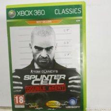 Videojuegos y Consolas: REFXBOX360.68 SPLINTER CELL JUEGO XBOX 360 SEGUNDAMANO. Lote 268270089