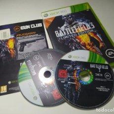 Videojuegos y Consolas: BATTLEFIELD 3 - LIMITED EDITION (XBOX 360 - PAL - ESP). Lote 268744409