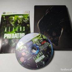 Videojuegos y Consolas: ALIENS VS PREDATOR ( CAJA METALICA ) (XBOX 360 - PAL - ESP). Lote 268753834