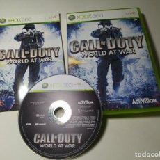 Videojuegos y Consolas: CALL OF DUTY - WORLD AT WAR (XBOX 360 - PAL - ESP). Lote 268754039