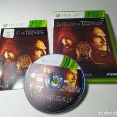 Videojuegos y Consolas: JUEGO DE TRONOS (XBOX 360 - PAL - ESP). Lote 268754559