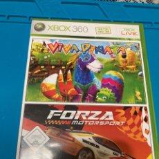 Videojuegos y Consolas: FORZA MOTORSPORT 2 / VIVA PIÑATA XBOX 360 PAL ESPAÑA. Lote 268755719