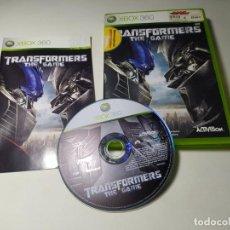 Videojuegos y Consolas: TRANSFORMERS - THE GAME (XBOX 360 - PAL - ESP). Lote 268765999