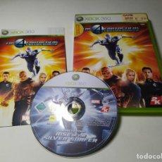 Videojuegos y Consolas: LOS 4 FANTASTICOS Y SILVER SURFER (XBOX 360 - PAL - ESP). Lote 268766649