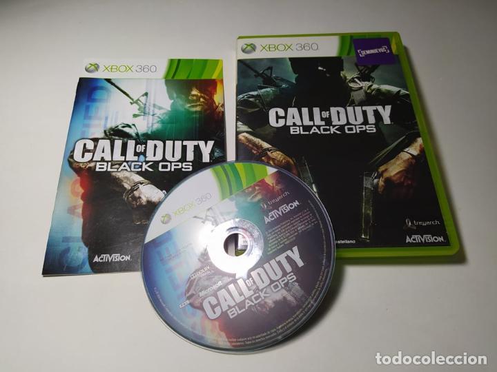 CALL OF DUTY - BLACK OPS (XBOX 360 - PAL - ESP) (Juguetes - Videojuegos y Consolas - Microsoft - Xbox 360)