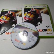 Videojuegos y Consolas: MOTOGP 08 (XBOX 360 - PAL - ESP). Lote 268767369