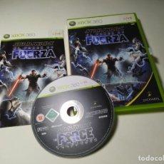 Jeux Vidéo et Consoles: STARS WARS - EL PODER DE LA FUERZA (XBOX 360 - PAL - ESP). Lote 268767569