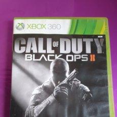 Videojuegos y Consolas: XBOX 360 CALL OF DUTY - BLACK OPS II CAJA VACIA Y MANUAL - NO INCLUYE CD!!. Lote 268785909
