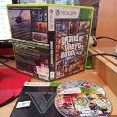 Videojuegos y Consolas: GRAND THEFT AUTO V (360) - SEMINUEVO. Lote 268933619