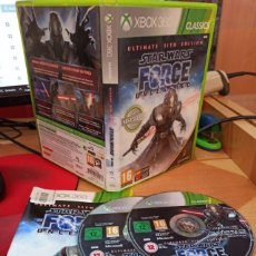Videojuegos y Consolas: STAR WARS THE FORCE UNLEASHED ULTIMATE SIT (360) - SEMINUEVO. Lote 268933644
