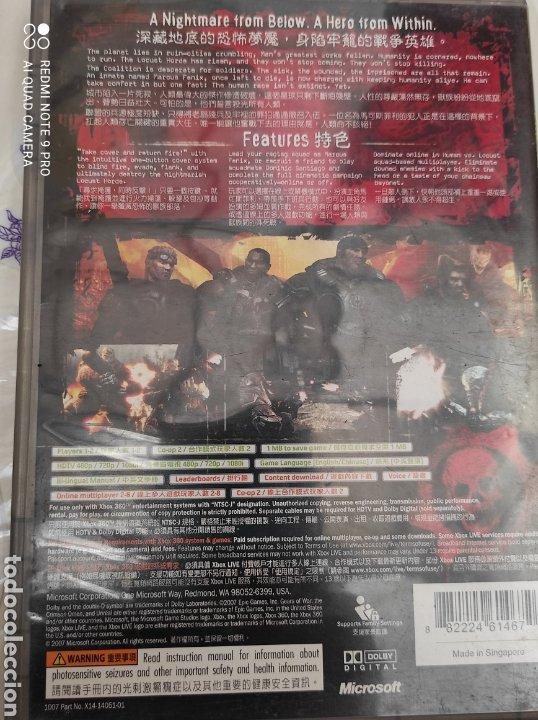 Videojuegos y Consolas: XBOX 360 GEARS OF WAR - Foto 2 - 268946944