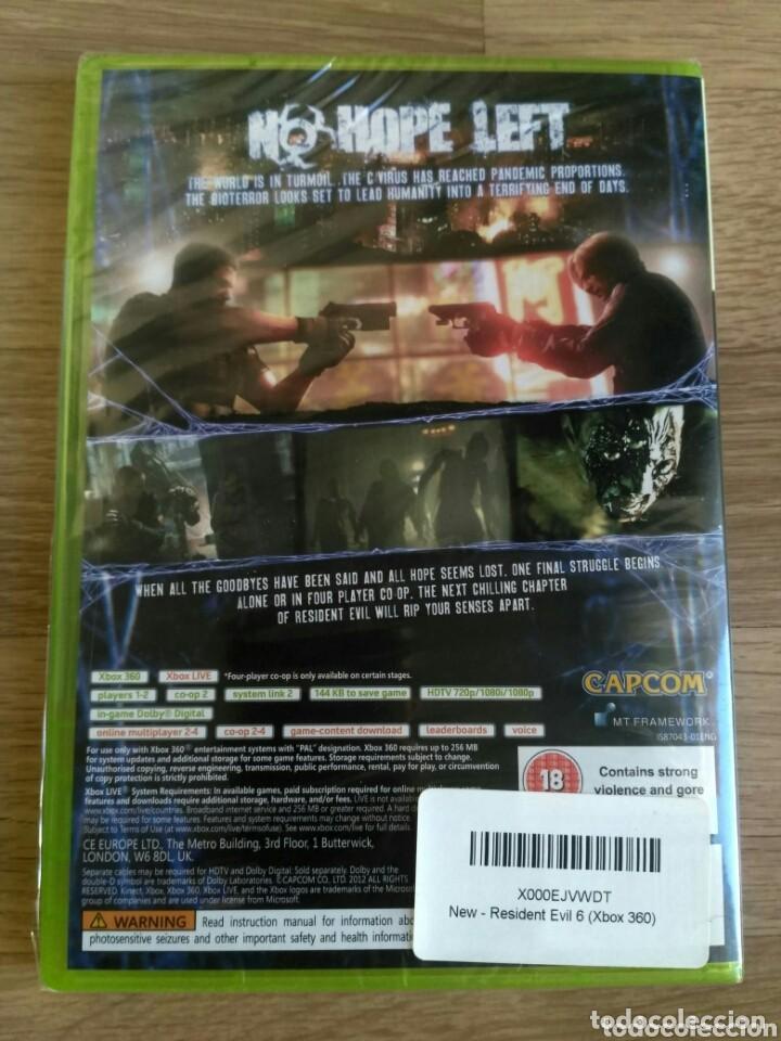Videojuegos y Consolas: XBOX360 JUEGO RESIDENT EVIL 6 NUEVO Y PRECINTADO - Foto 2 - 269081888