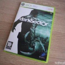 Videojuegos y Consolas: XBOX360 JUEGO DARKSECTOR. Lote 269082333