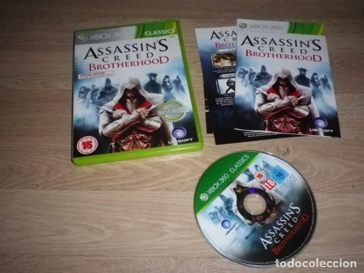 XBOX360 JUEGO ASSASSIN'S CREED LA HERMANDAD PAL (Juguetes - Videojuegos y Consolas - Microsoft - Xbox 360)