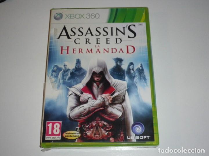 XBOX360 JUEGO ASSASSI'NS CREED LA HERMANDAD NUEVO (Juguetes - Videojuegos y Consolas - Microsoft - Xbox 360)