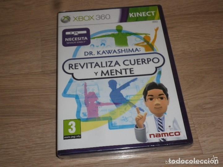 XBOX360 JUEGO DR. KAWASHIMA REVITALIZA CUERPO Y MENTE - NUEVO - KINECT (Juguetes - Videojuegos y Consolas - Microsoft - Xbox 360)