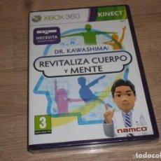 Videojuegos y Consolas: XBOX360 JUEGO DR. KAWASHIMA REVITALIZA CUERPO Y MENTE - NUEVO - KINECT. Lote 269083328