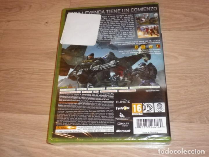 Videojuegos y Consolas: XBOX360 JUEGO HALO REACH NUEVO - Foto 2 - 269083473