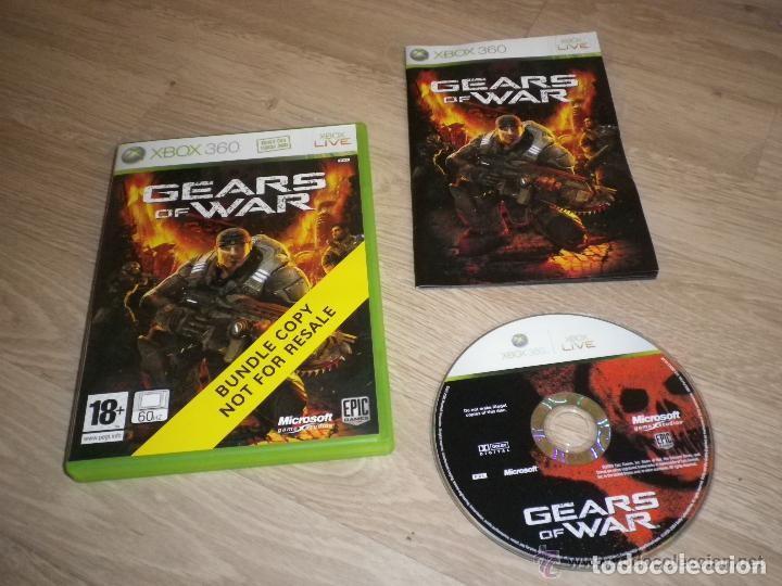 XBOX360 JUEGO GEARS OF WAR (CARATULA BUNDLE) (Juguetes - Videojuegos y Consolas - Microsoft - Xbox 360)