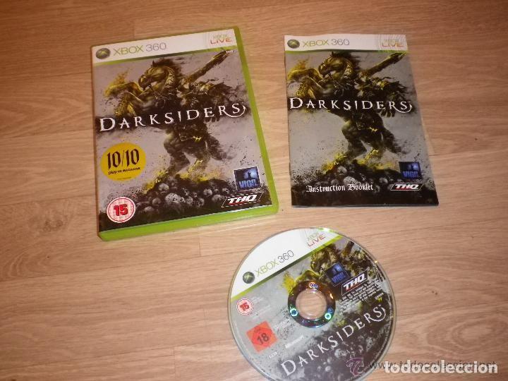 XBOX360 JUEGO DARKSIDERS COMPLETO PAL (Juguetes - Videojuegos y Consolas - Microsoft - Xbox 360)