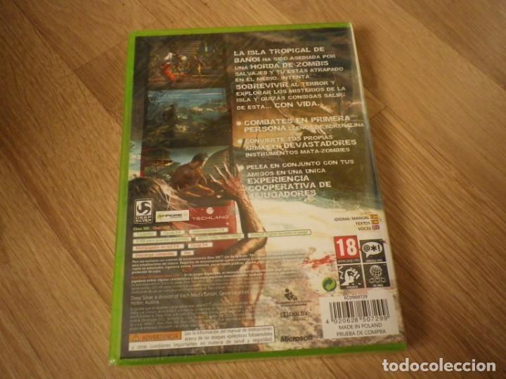 Videojuegos y Consolas: XBOX360 JUEGO DEAD ISLAND NUEVO PAL ESPAÑA - Foto 2 - 269084943
