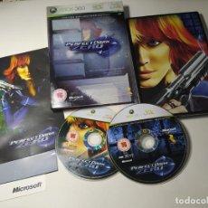 Jeux Vidéo et Consoles: PERFECT DARK ZERO ( CAJA METALICA E. COLLECCIONISTA) ( XBOX 360 - PAL - UK) CON ESPAÑOL!. Lote 269230328