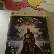 Videojuegos y Consolas: JUEGO XBOX 360 BATMAN ARKHAM ASYLUM 2009. Lote 269413698