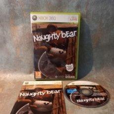 Videojuegos y Consolas: NAUGHTY BEAR XBOX 360. Lote 269699213