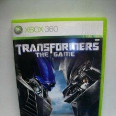Videojuegos y Consolas: TRANSFORMERS THE GAME PARA XBOX 360. Lote 269967443