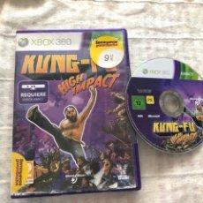 Videojuegos y Consolas: KUNG FU HIGH IMPACT KINECT KUNGFU - XBOX 360 X360. Lote 270385538