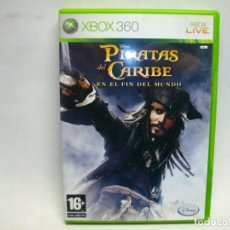Videojuegos y Consolas: PIRATAS DEL CARIBE EN EL FIN DEL MUNDO JUEGO PARA XBOX 360. Lote 270632828
