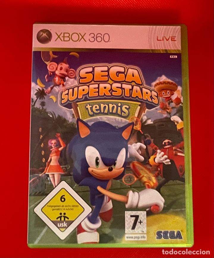 SEGA SUPERSTARS TENNIS XBOX 360 (Juguetes - Videojuegos y Consolas - Microsoft - Xbox 360)
