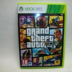 Videojuegos y Consolas: GRAND THEFT AUTO V JUEGO PARA LA XBOX 360. Lote 270636128