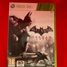 Videojuegos y Consolas: JUEGO XBOX 360 BATMAN ARKHAM CITY X360. Lote 270649898