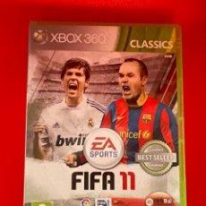 Videojuegos y Consolas: JUEGO XBOX 360 FIFA 11 XBOX 360. Lote 270650638