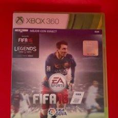 Videojuegos y Consolas: FIFA 16 XBOX 360 PAL ESPAÑA. Lote 270650818