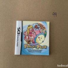 Videojogos e Consolas: H10. MANUAL DS SÚPER PRINCESS PEACH DS. Lote 270886728