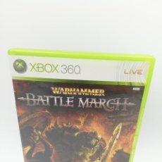 Videojuegos y Consolas: WARHAMMER BATTLE MARCH XBOX 360. Lote 271410088