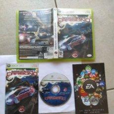 Videogiochi e Consoli: NEED FOR SPEED CARBONO XBOX360 XBOX 360 COMPLETO PAL-ESPAÑA. Lote 271939598