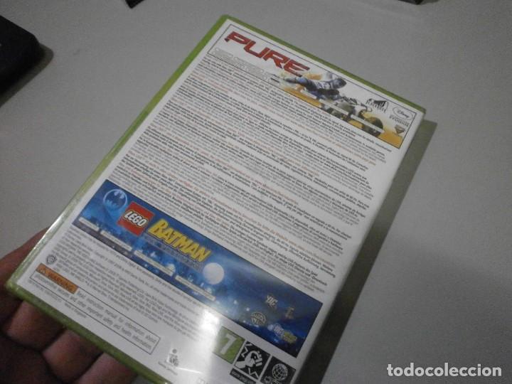 Videojuegos y Consolas: juego xbox 360 pure y lego batman nuevo precintado - Foto 3 - 274182878