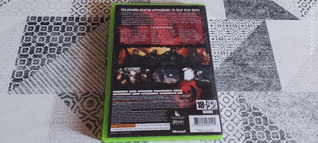 Videojuegos y Consolas: GEARS OF WAR XBOX 360 PAL ESPAÑA PRIMERA EDICION - Foto 2 - 275486548