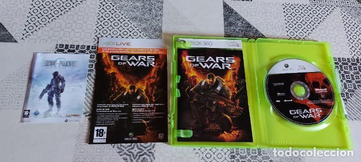 Videojuegos y Consolas: GEARS OF WAR XBOX 360 PAL ESPAÑA PRIMERA EDICION - Foto 3 - 275486548