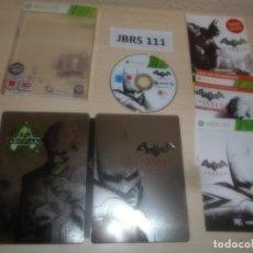 Videojuegos y Consolas: XBOX 360 - BATMAN ARKHAM CITY COLECIONISTA , PAL UK , COMPLETO. Lote 275920188