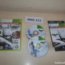 Videojuegos y Consolas: XBOX 360 - BATMAN ARKHAM CITY GOTY , PAL UK , COMPLETO. Lote 275920283