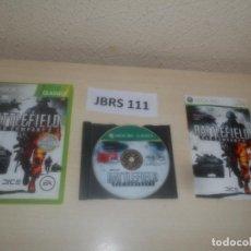 Videojuegos y Consolas: XBOX 360 - BATTLEFIELD BAD COMPANY 2 , PAL ESPAÑOL , COMPLETO. Lote 275920883