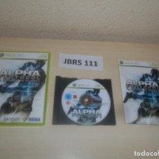 Videojuegos y Consolas: XBOX 360 - ALPHA PROTOCOOL , PAL ESPAÑOL , COMPLETO. Lote 275922113