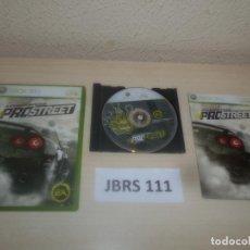 Videojuegos y Consolas: XBOX 360 - NEED FOR SPEED PROSTREET , PAL ESPAÑOL , COMPLETO. Lote 275924353