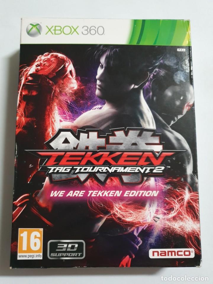 TEKKEN TAG TOURNAMENT 2 WE ARE TEKKEN EDITION ESTADO IMPECABLE MAS ARTICULOS NEGOCIABLE (Juguetes - Videojuegos y Consolas - Microsoft - Xbox 360)