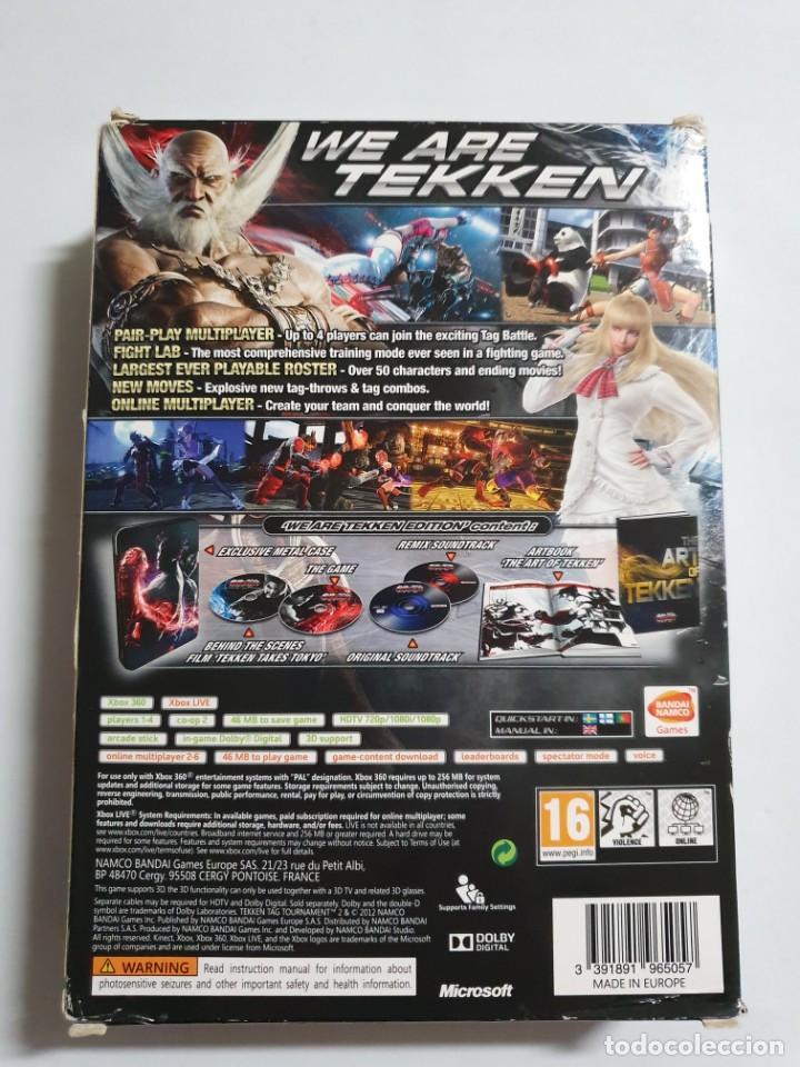 Videojuegos y Consolas: TEKKEN TAG TOURNAMENT 2 WE ARE TEKKEN EDITION ESTADO IMPECABLE MAS ARTICULOS NEGOCIABLE - Foto 2 - 275960483